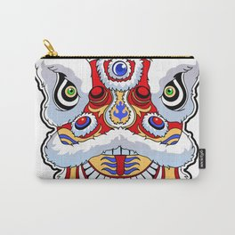 Chinese lion head dance. Carry-All Pouch