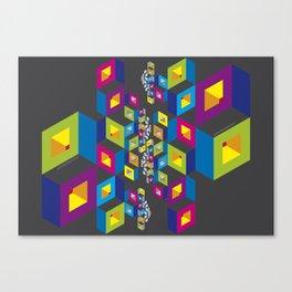 Socialization Colors Canvas Print