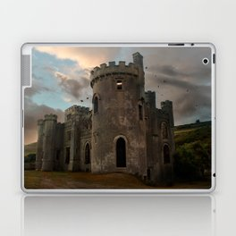 Clifden Castle at the sunset Laptop & iPad Skin
