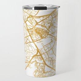 NAIROBI KENYA CITY STREET MAP ART Travel Mug