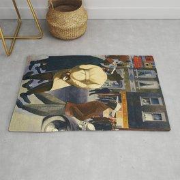 Harlem Sunday Morning African American Masterpiece by E. Burra Rug
