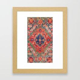 Alpan Kuba East Caucasus Rug Print Framed Art Print