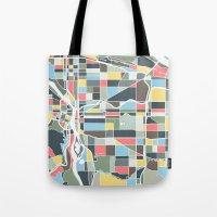 portland Tote Bags featuring Portland. by Studio Tesouro
