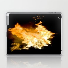 Face in the Flames Laptop & iPad Skin