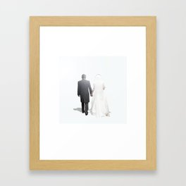 Wherever you go, I wish you good luck Framed Art Print