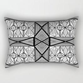 Diamonds and Octagons Rectangular Pillow