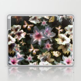 Amaryllis and Butterflies Laptop & iPad Skin