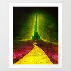 Dark Emerald Art Print