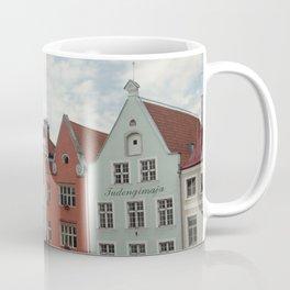 Pastel Houses Coffee Mug