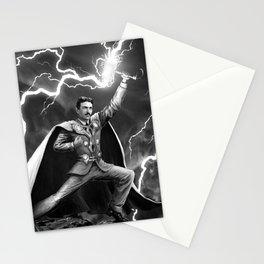 Tesla: God of Thunder Stationery Cards