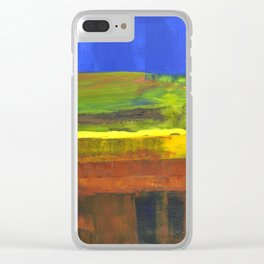 The unplowed land Clear iPhone Case