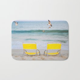 Beach Chairs Bath Mat