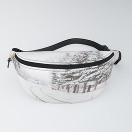 winter landscape Fanny Pack