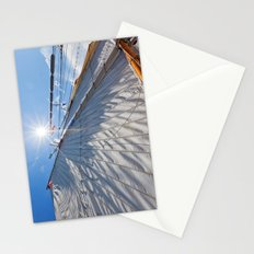 White Sails and Sunshine Stationery Cards