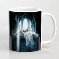 demon Mugs featuring Demon by Joe Roberts