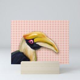 Great Hornbill Bird Mini Art Print