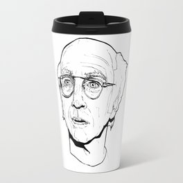 Curb your Larry David Travel Mug
