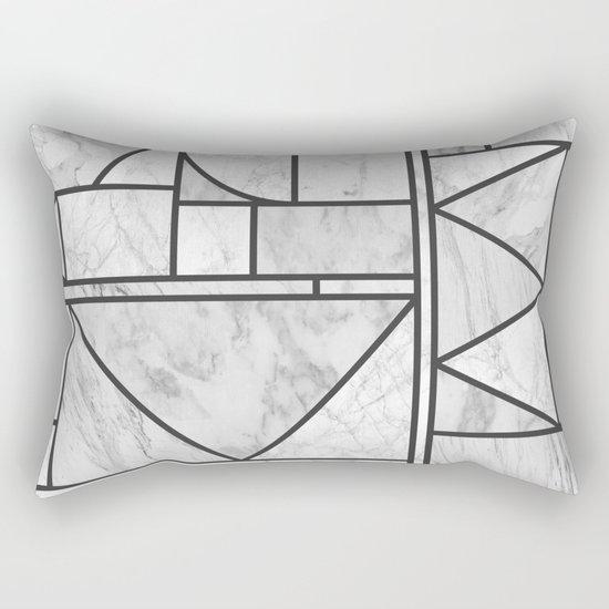 Kaku Stone Rectangular Pillow