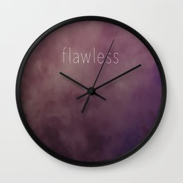 Flawless Duffle Bag Wall Clock