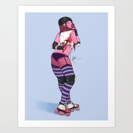 Back Block Art Print