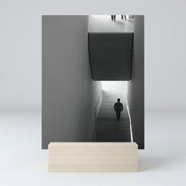 interstitial space Mini Art Print