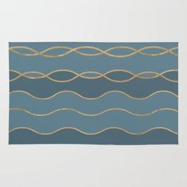 Blueprint Wavy Pattern 1 Rug