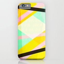 SOD - Lucy, Pattern iPhone Case