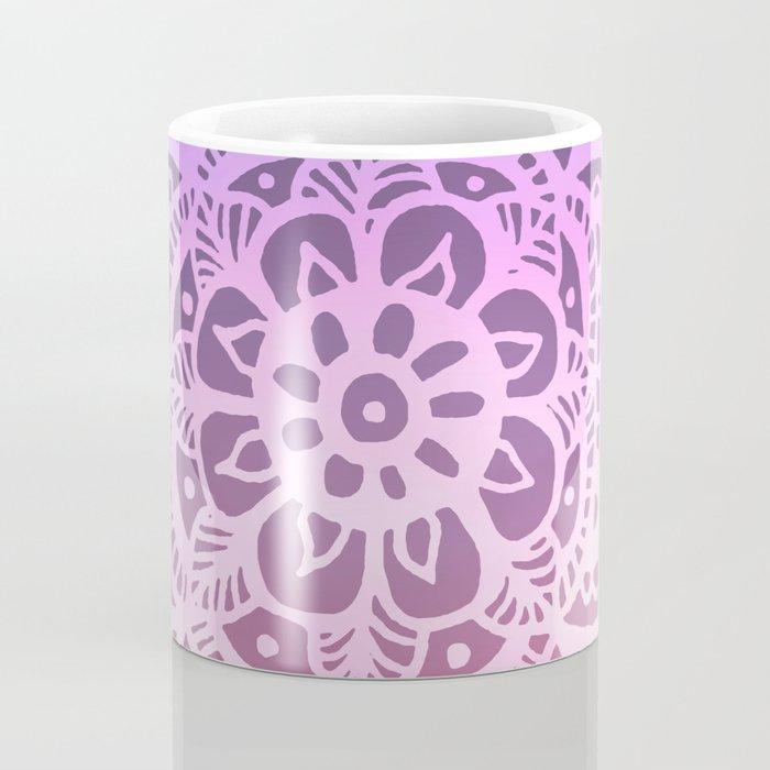 Sunset Sky Mandala Coffee Mug