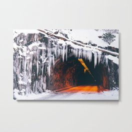 Wawona Tunnel Metal Print
