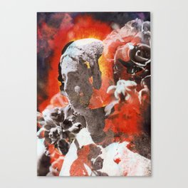Chromo Madonna Canvas Print