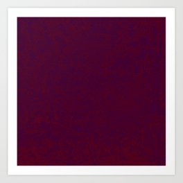 brocade effect in purple and red Art Print