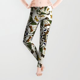 Kaleidoscope with Wings Leggings