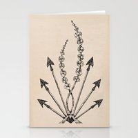 katniss Stationery Cards featuring Katniss Plant by Meghan Hill