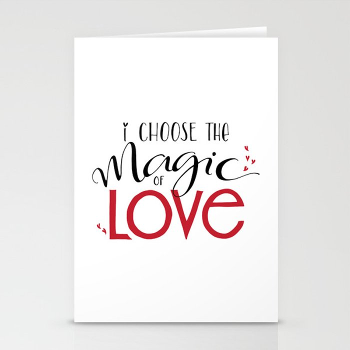 Magic of Love Stationery Cards