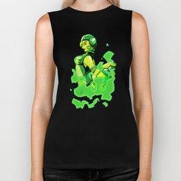 Green Gum Biker Tank
