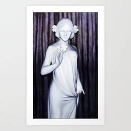 Nymph of the Fields Art Print