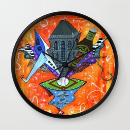 SECRET GEM Wall Clock