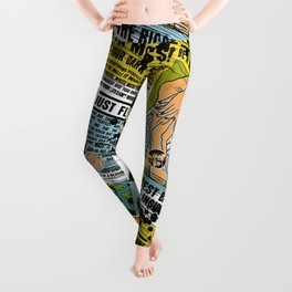 The biggest Battle is the one inside you (Color) Leggings
