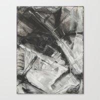divergent Canvas Prints featuring Divergent by Ultie Arts