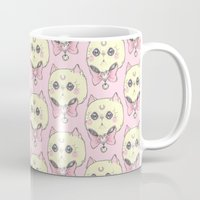 meow Mugs featuring Meow by lOll3