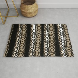 Coffee Balls and Donut Holes Rug