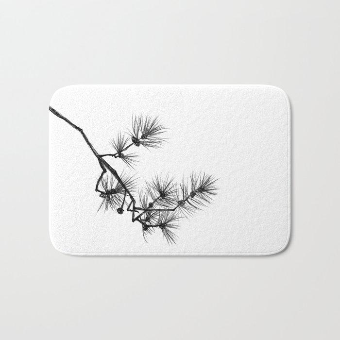 Branche de pin Bath Mat