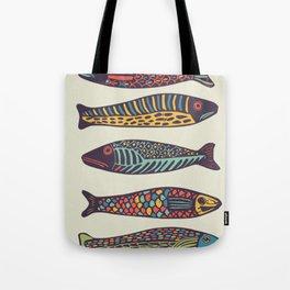 Colorful fish Tote Bag