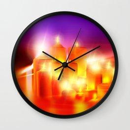 Kerzenschein Wall Clock