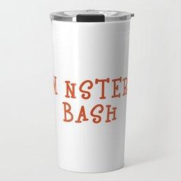 Funny & Cool Halloween Costume Tee Monster Bash Travel Mug