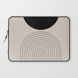 Arch, geometric modern art Laptop Sleeve