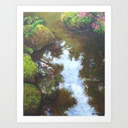 Reflecting Pond Art Print