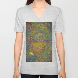Natures Art 8 Unisex V-Neck