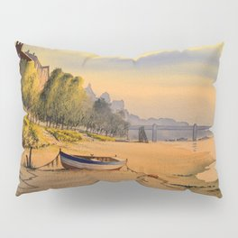 Strand-On-The Green London Early Morning Stroll Pillow Sham