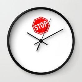 Stop Resisting Wall Clock